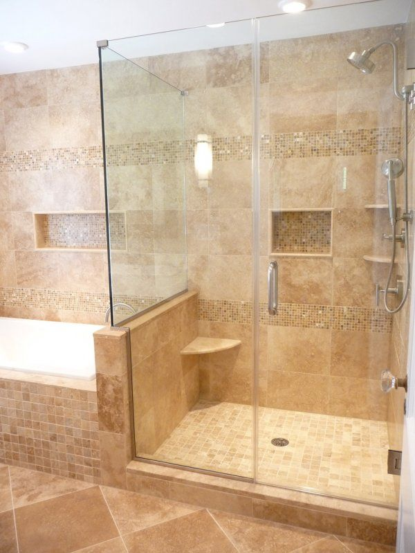 Bathroom Tile Insert Mosaic Design Pictures Remodel Decor And