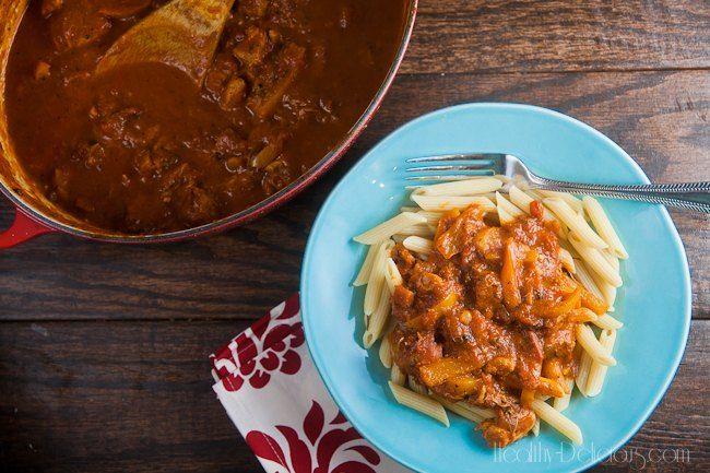 Cajun Chicken Pasta (Secret Recipe Club) - Healthy. Delicious.