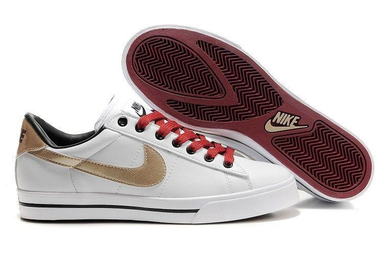 Nike 902 Blazer Low Leather Heren Schoenen Wit Goud Rood Zwart,Various  trainers in stock