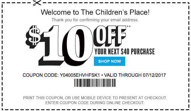 The Children S Place Coupons Printable Coupons And Coupon Codes 2020 Cha Ching Queen Childrens Place Coupons Childrens Place The Children S Place