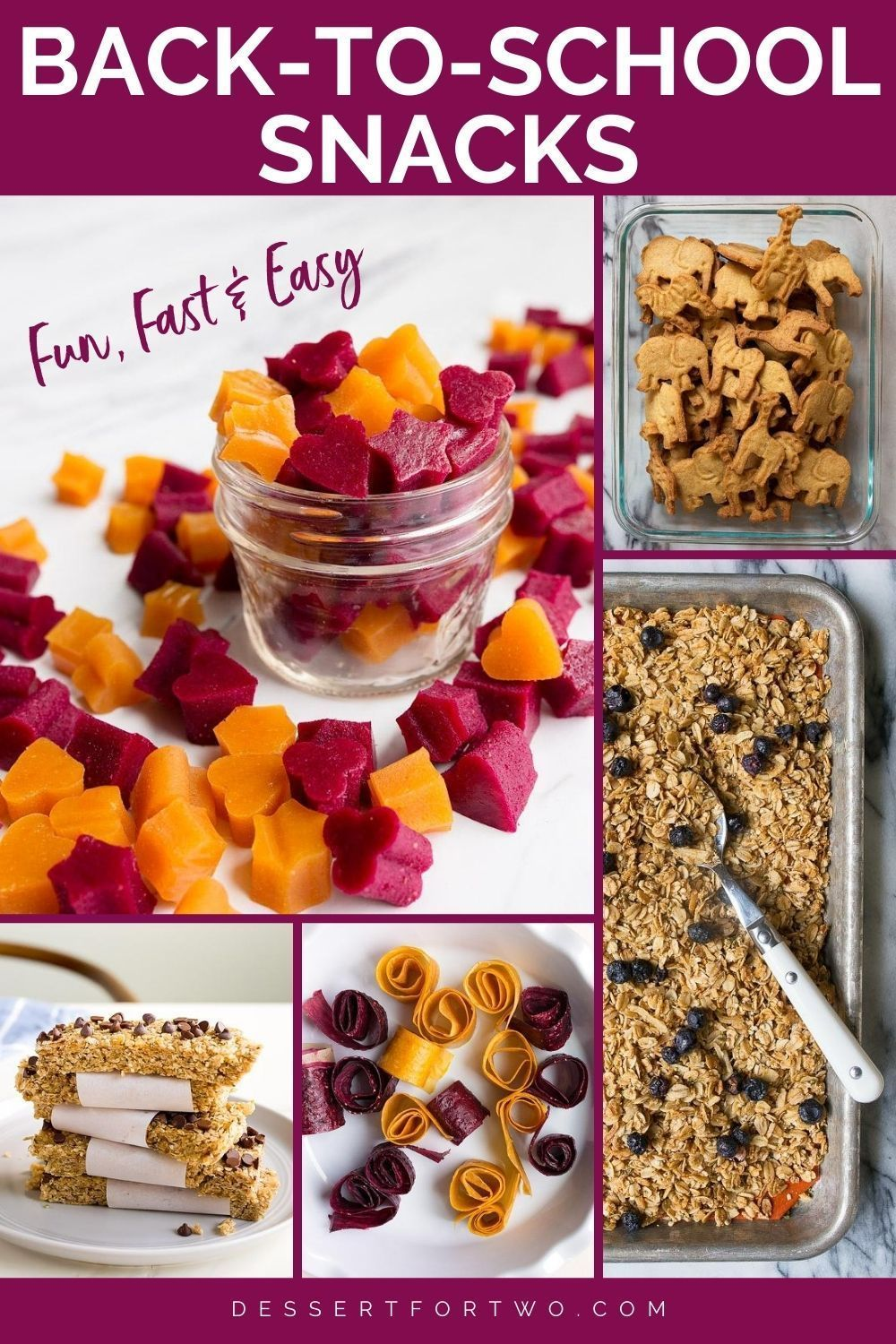 Homemade Back to School Recipes - Stage 1 and Stage 2 in ...