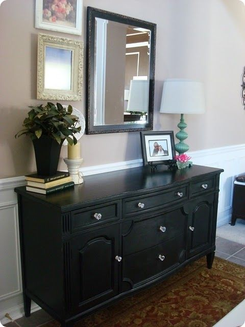 Our Home Dresser remodel, Small framed mirrors and Dresser