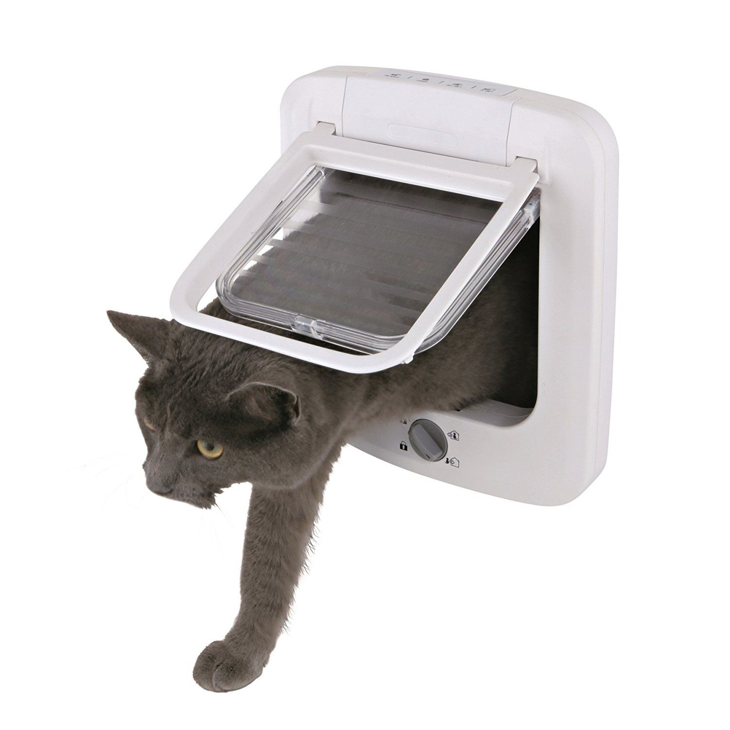 Trixie Cat Products 4 Way Plastic Cat Door With Rotary Lock Find Out More Details By Clicking The Image This Is An Amazon Affiliate Link With Images Cat Door Pet Door