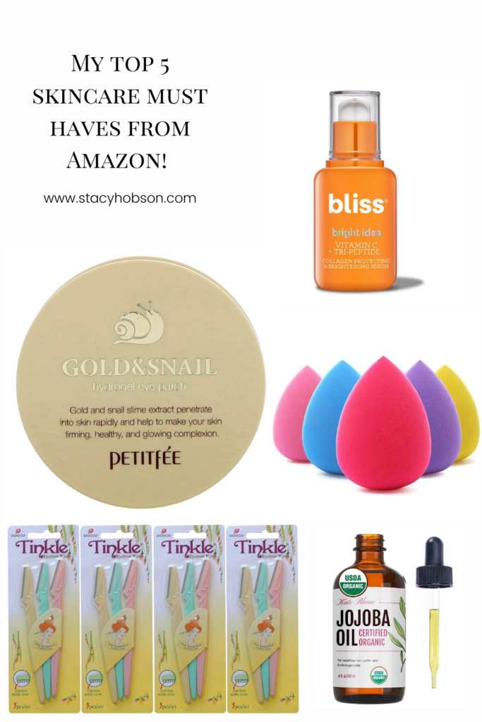 My Top 5 Skincare Must Haves That I Get Straight From Amazon Each Of These Products Have A Constant Spot On My V Skin Care Top Skin Care Products Skin Firming
