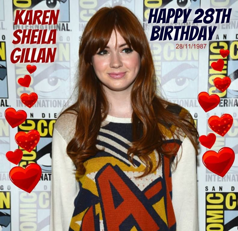 Happy 28th Birthday, Karen! <3