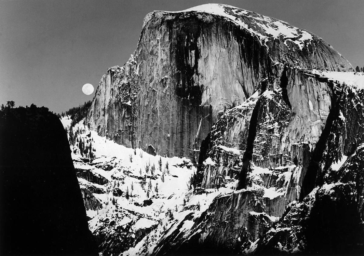 Presentamos algunas fotografías del maestro del paisaje, Ansel Adams ...