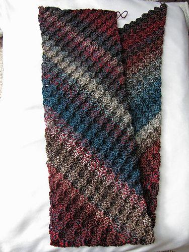 Ravelry: grammamaggie2's autumn wind I scarf