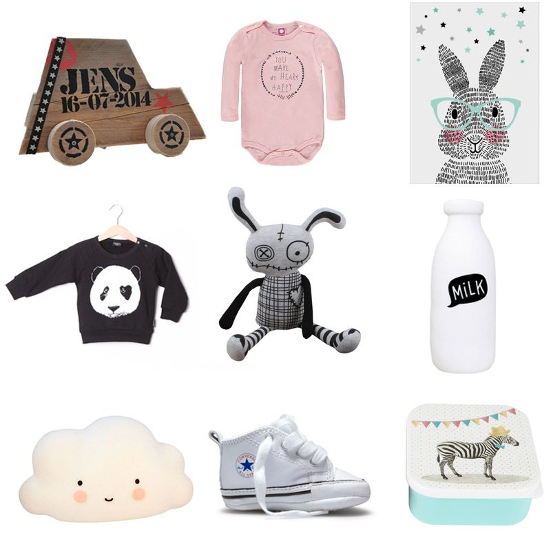 villaknuss, hippe baby spullen, babykleding , kraamcadeau's, Deco ideeën