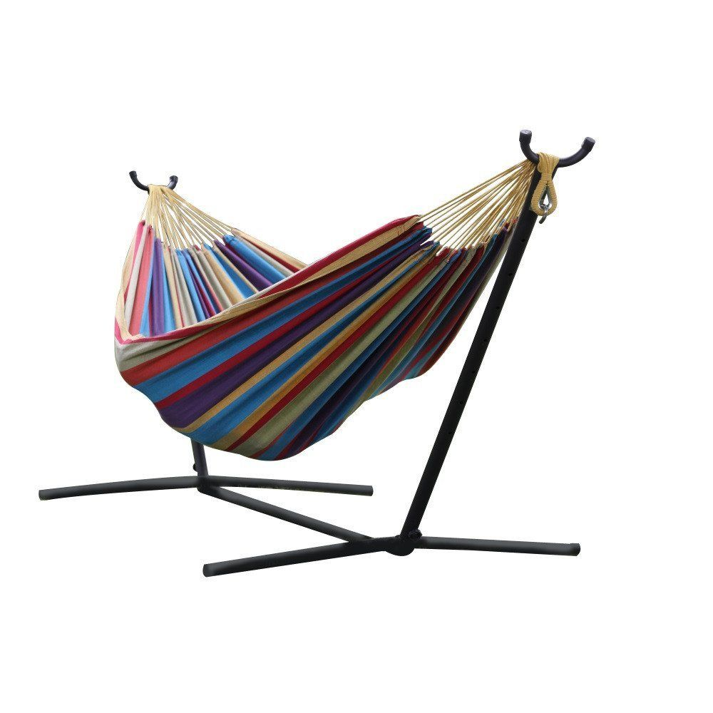 Hängemattengestell Selber Bauen Vivere Ltd Double Hammock Combo With 9 Foot Stand Home Decor
