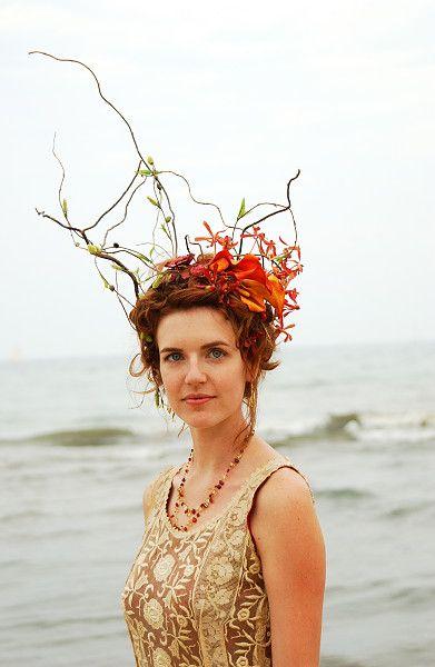 Boho Bride headpiece