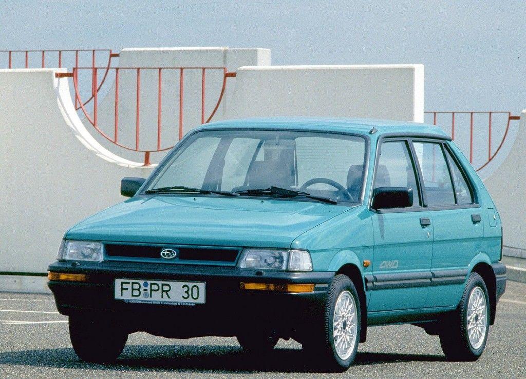 Subaru Justy 4wd 5 Door Worldwide Ka 1988 94 In 2020 Subaru Justy Subaru Car