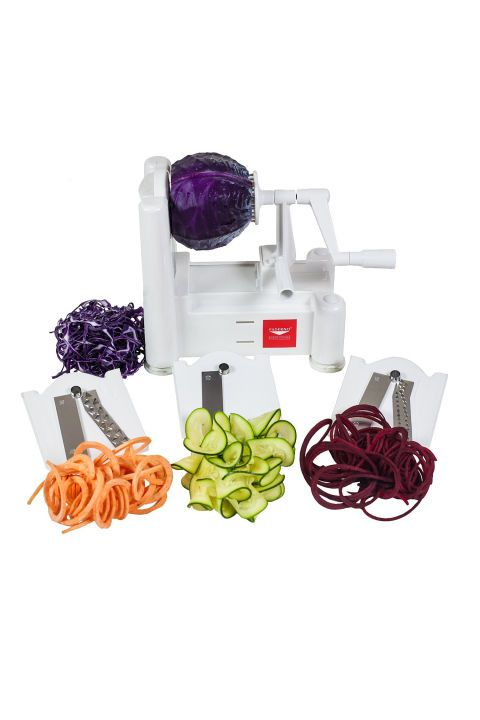 Veggie Spiralizer – Carb-avoidant health nuts still obsess over zoodles (that's zucchini noodles, of course!) and she will too. Click through for more last minute mother's day gift ideas.