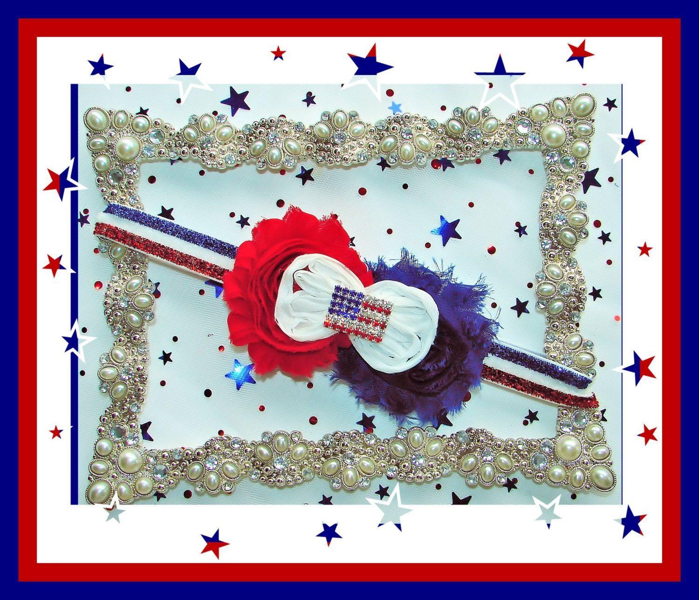 4th of July Headband, Patriotic Headband, Shabby Chic 4th of July Headband, Shabby Chic Bow, Red, White and Blue Bow, Photo Prop, 11 #shabbychicheadbands 4th of July Headband, Patriotic Headband, Shabby Chic 4th of July Headband, Shabby Chic Bow, Red, White and Blue Bow, Photo Prop, 11 by NANNASLITTLEMISSBOWS on Etsy #shabbychicheadbands