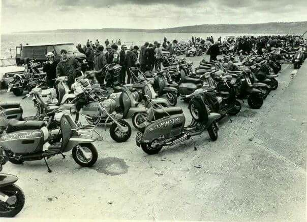 Scarborough scooter rally 1980 ..