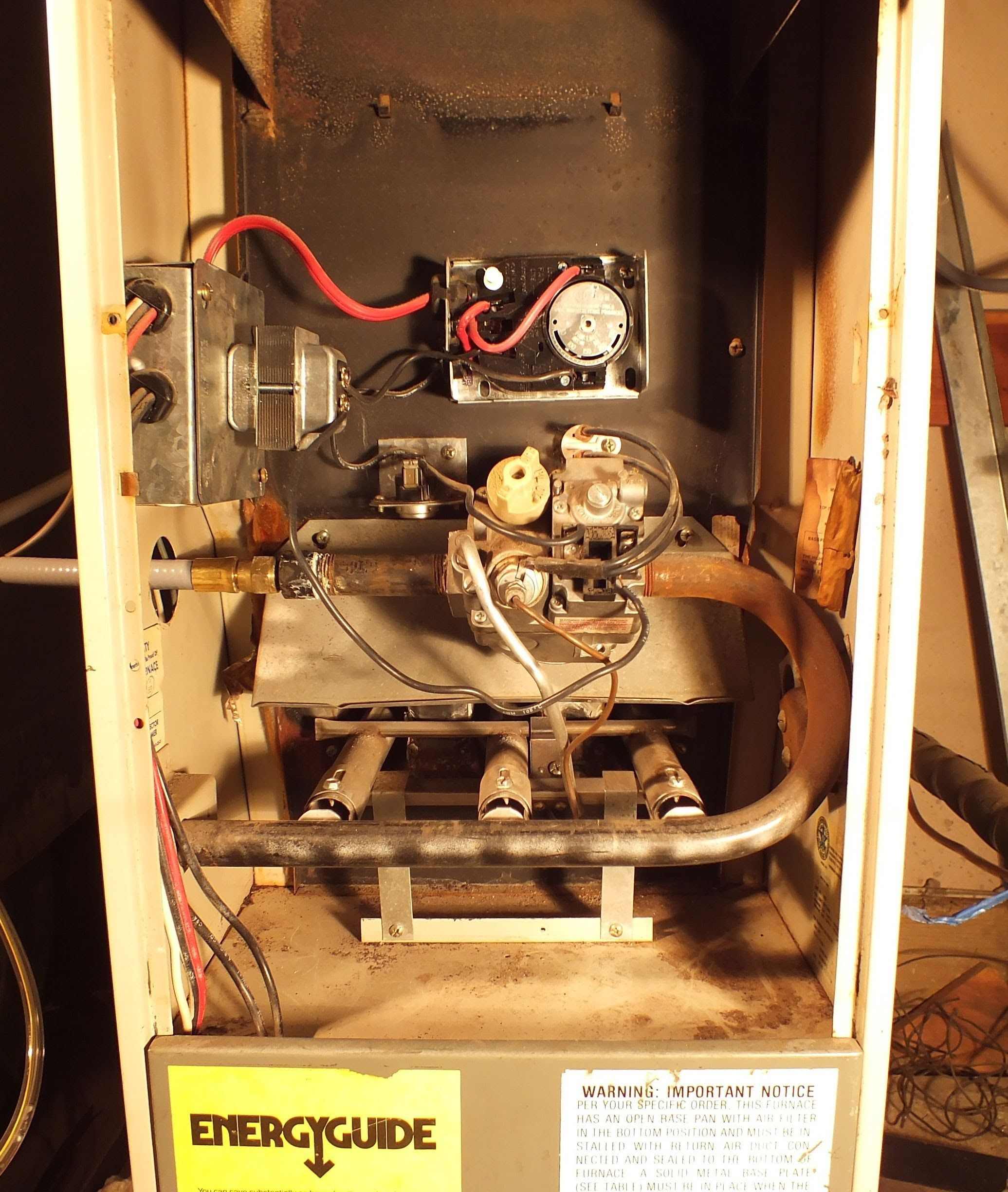 How To Relight The Pilot On The Gas Furnace Heating