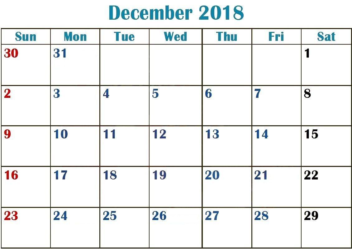 federal holidays canada december 2018 calendar