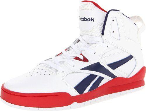 Reebok Footwear Mens BB4700 Mid Basketball Shoe White