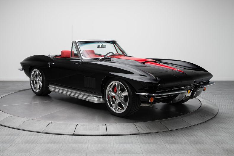 1967 black red chevrolet corvette sting ray roadster v8 gear x head petrolhead thingy. Black Bedroom Furniture Sets. Home Design Ideas