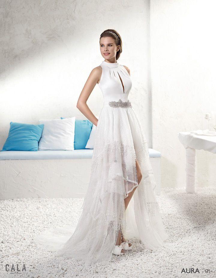 Vestidos novia blanco roto