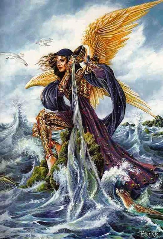 Briar Archangel Gabriel Card in 2020   Archangel gabriel ...
