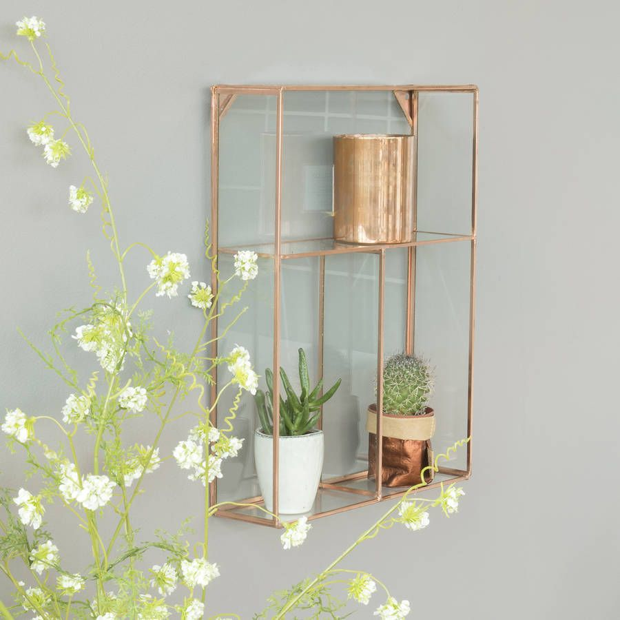 Are you interested in our Glass Shelf? With our Glass Hanging Shelf you need look no further.