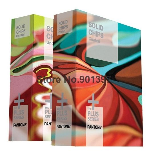 New Usa Pantone Solid Chips Coated Uncoated Color Chart Gp1606