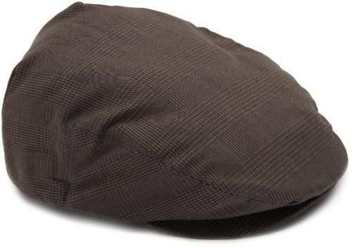 Brixton Men s Hooligan Driver Snap Hat Newsboy cap featuring front-snap  brim and custom lining f984a8d5420c