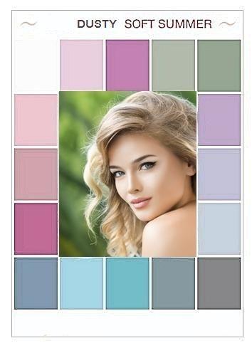 soft summer …  soft summer palette soft summer colors