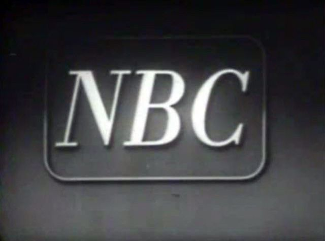 Early 1950's NBC logo Nbc, Nbc network, Word mark logo
