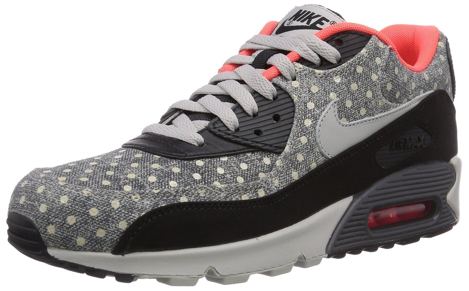 more photos 1f439 0321e Amazon.com: Nike AIR MAX 90 LTR PREMIUM Mens Sneakers 666578-006: Clothing