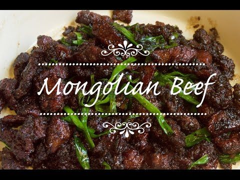 How to make mongolian beef basic 101 recipe youtube food forumfinder Image collections