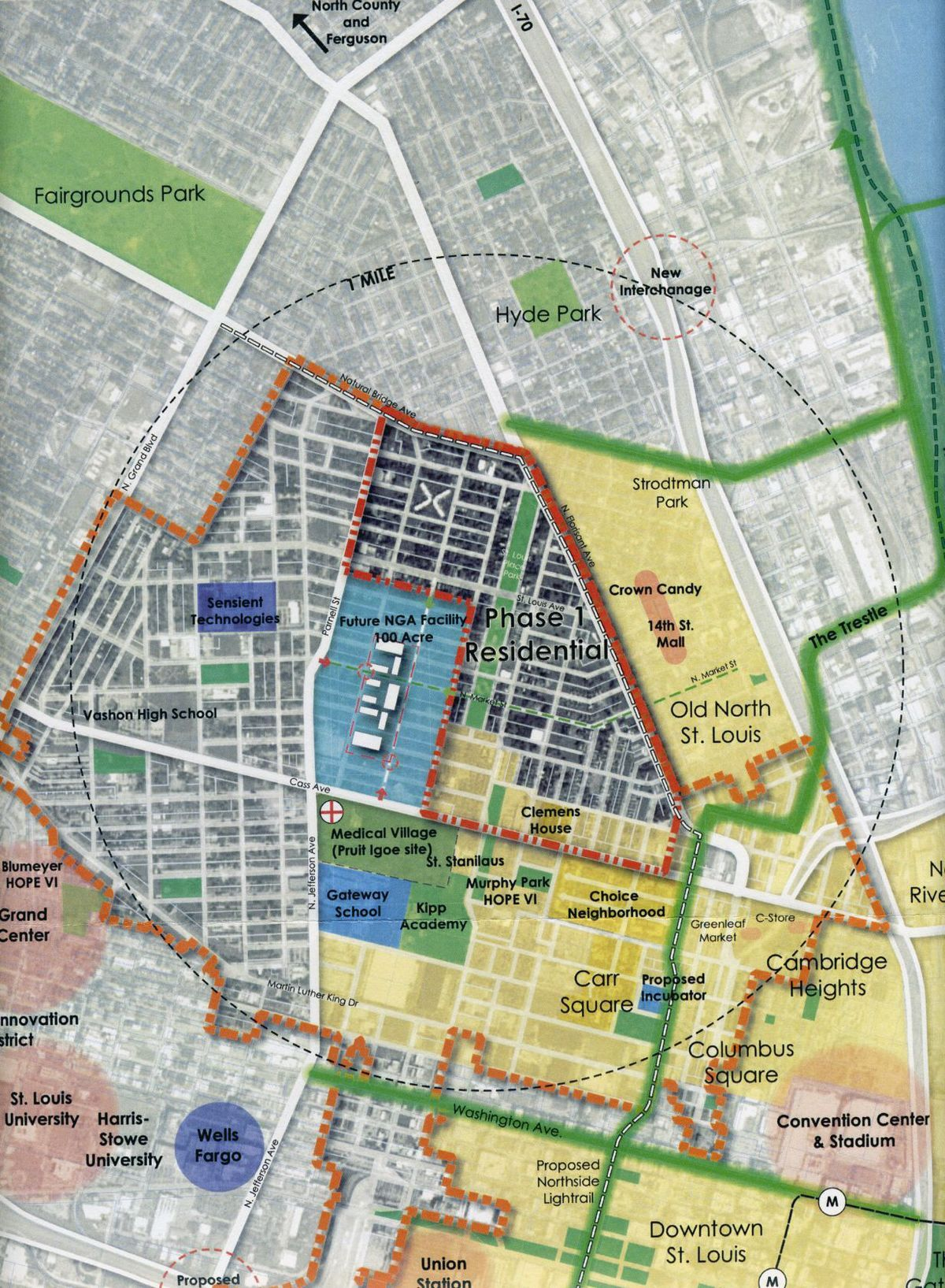 McKee plans 500-unit housing project near NGA site | Mapping ideas ...