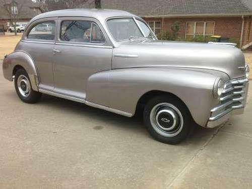 1948 Chevrolet Fleet Master Sedan Classic Cars Cars For Sale