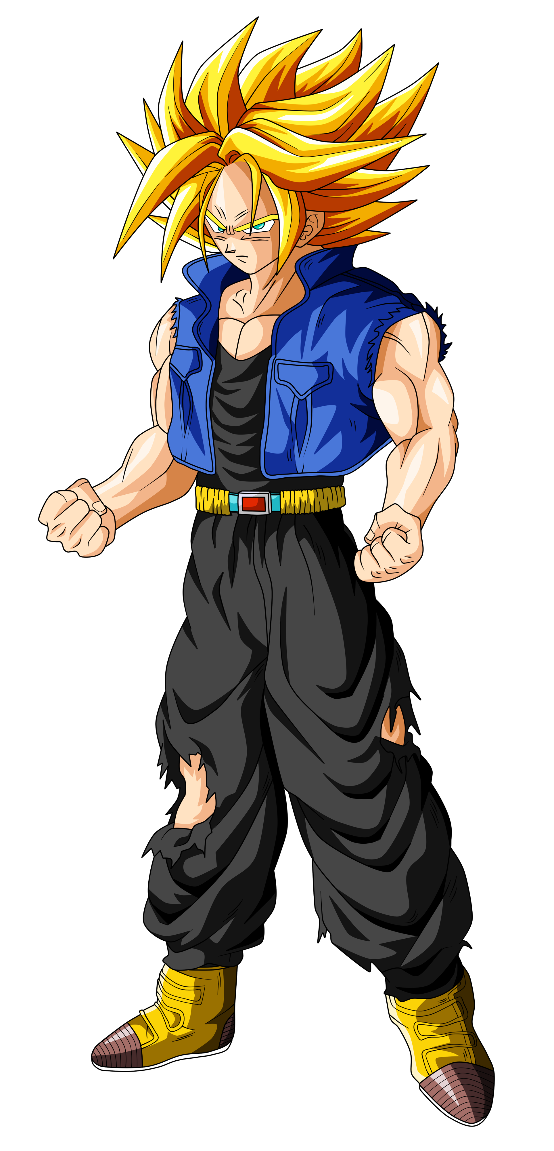 trunks super saiyan ascended by originalsupersaiyan deviantart com