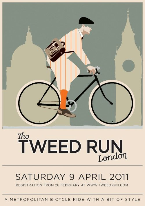 the tweed run, London