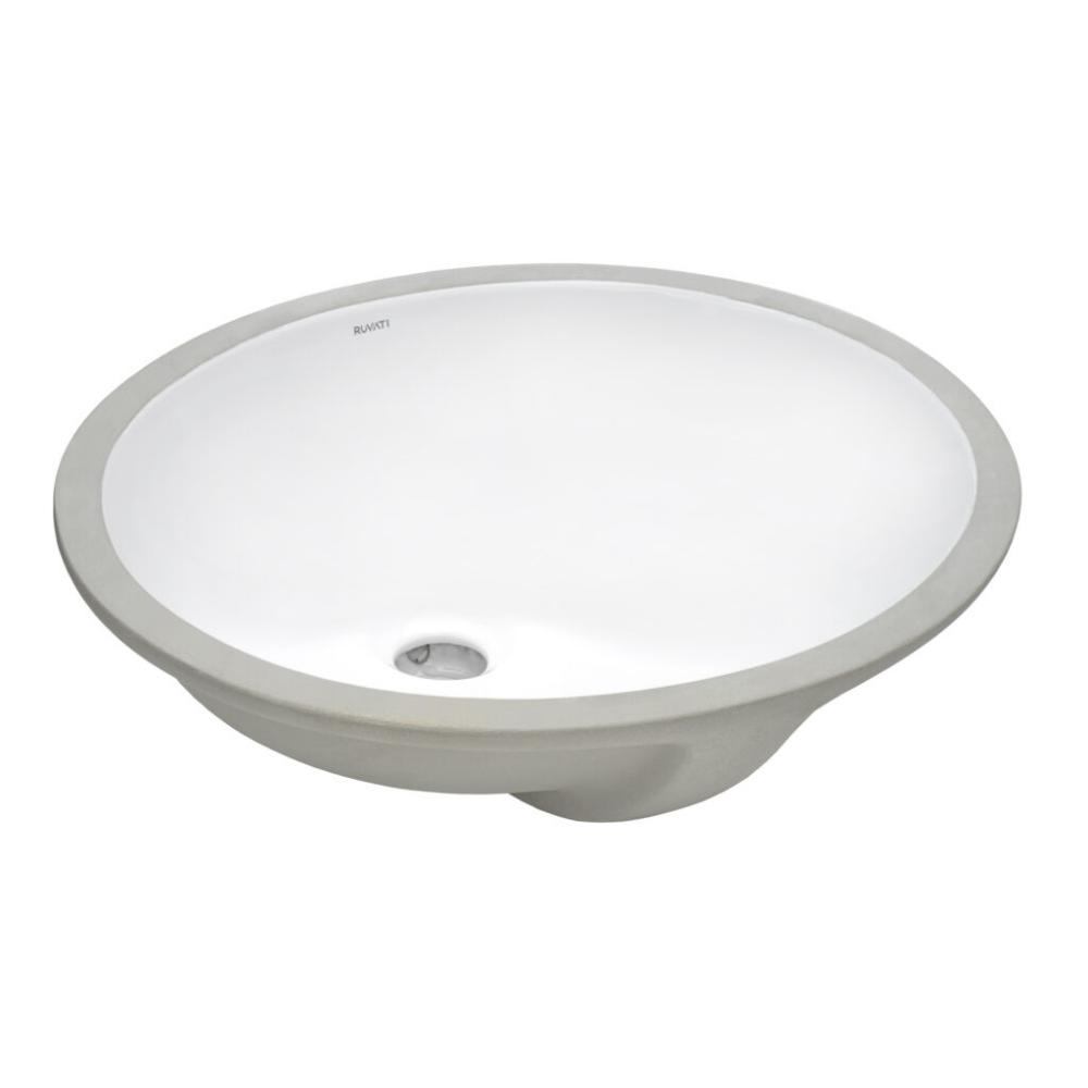 15 X 12 Inch Undermount Bathroom Vanity Sink White Oval Porcelain Ceramic With Overflow In 2020 Sink Vanity Sink Drain Opener