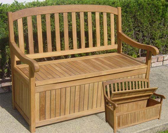 Teak Bench With Storage Underneath Teak Storage Teak Bench
