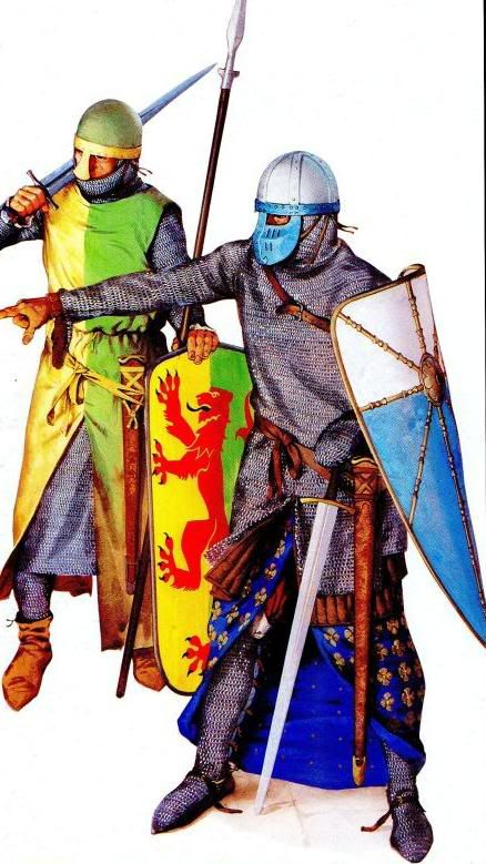 Historically accurate 12th century arms & armour    (pic