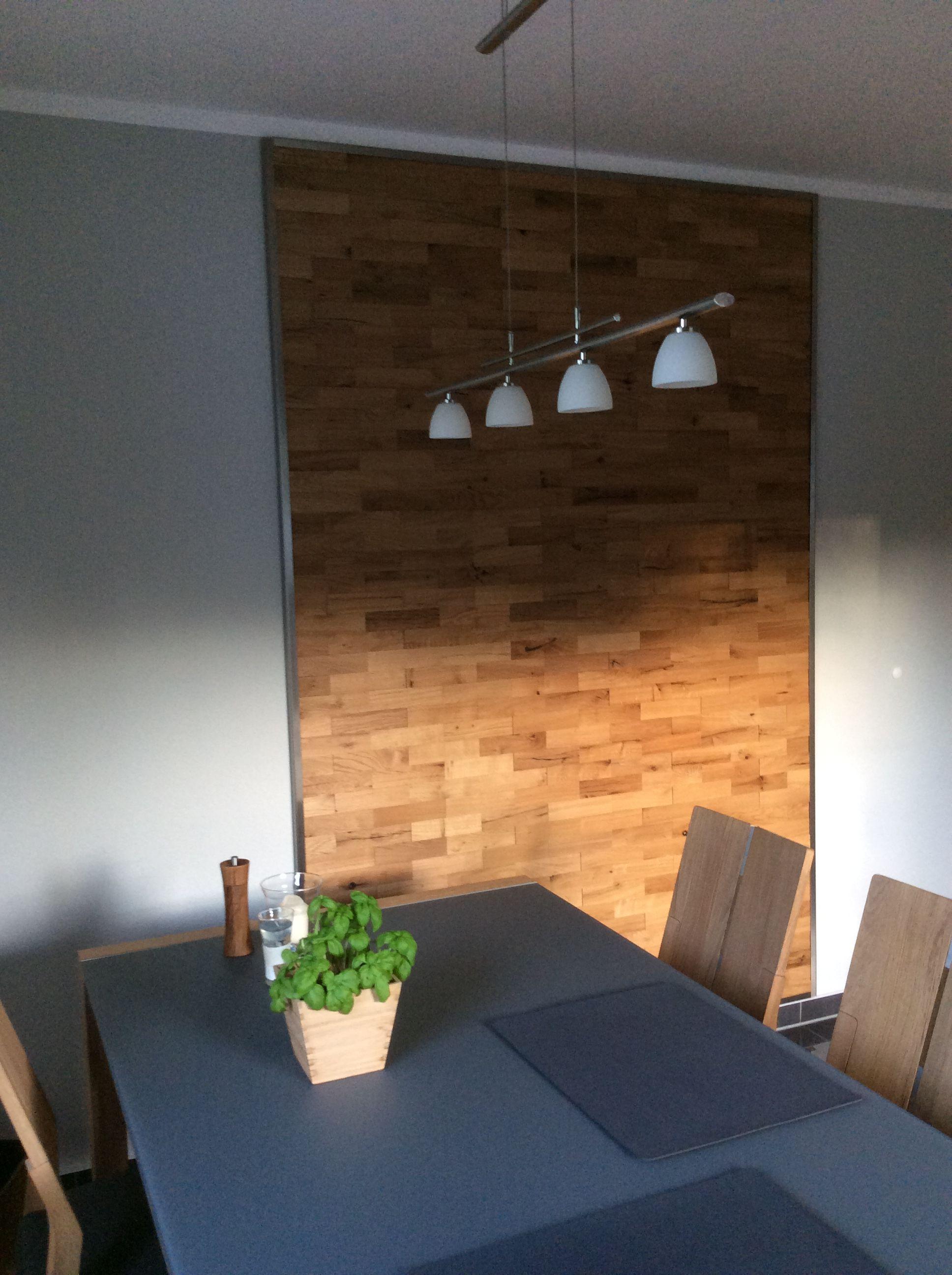 Eiche Rustikal Holz Wandverkleidung Von Wodewa. Einfache Und Individuelle  Verlegung Deiner Holzpaneele Zur Gestaltung Deiner