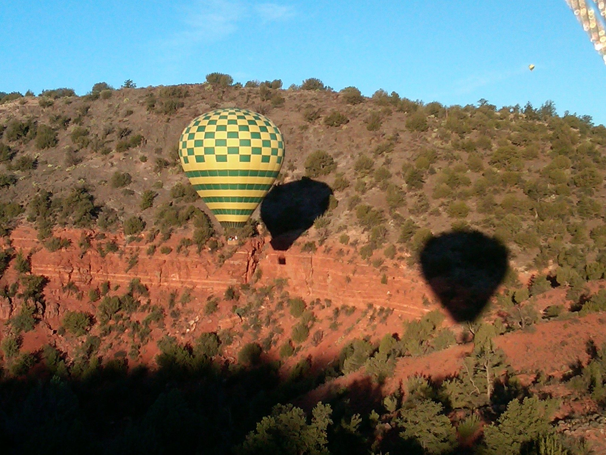 Northern Lights Hot Air Balloon Ride in Sedona AZ