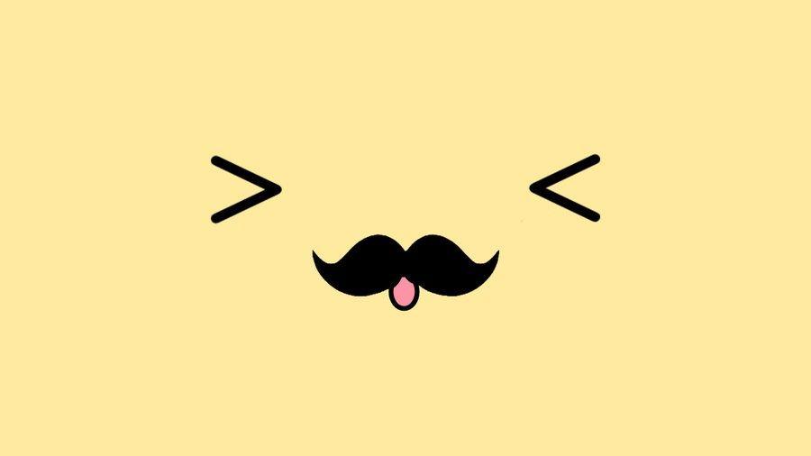Like Or Comment If You Like I Love Mustaches Cute Tumblr Wallpaper Mustache Wallpaper Cute Desktop Wallpaper