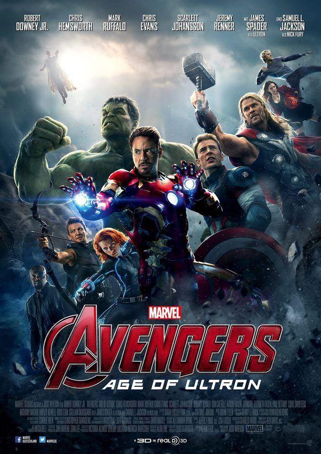 Poster Oficial De Vingadores Era De Ultron Reune Super Herois