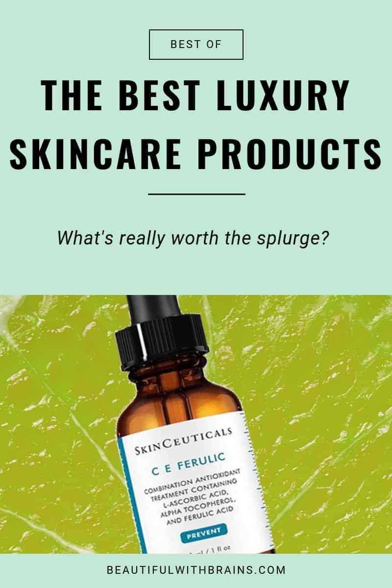 7 Expensive Skincare Products That Are Worth Their High Price Tags Skinceuticals Skin Care Luxury Skincare