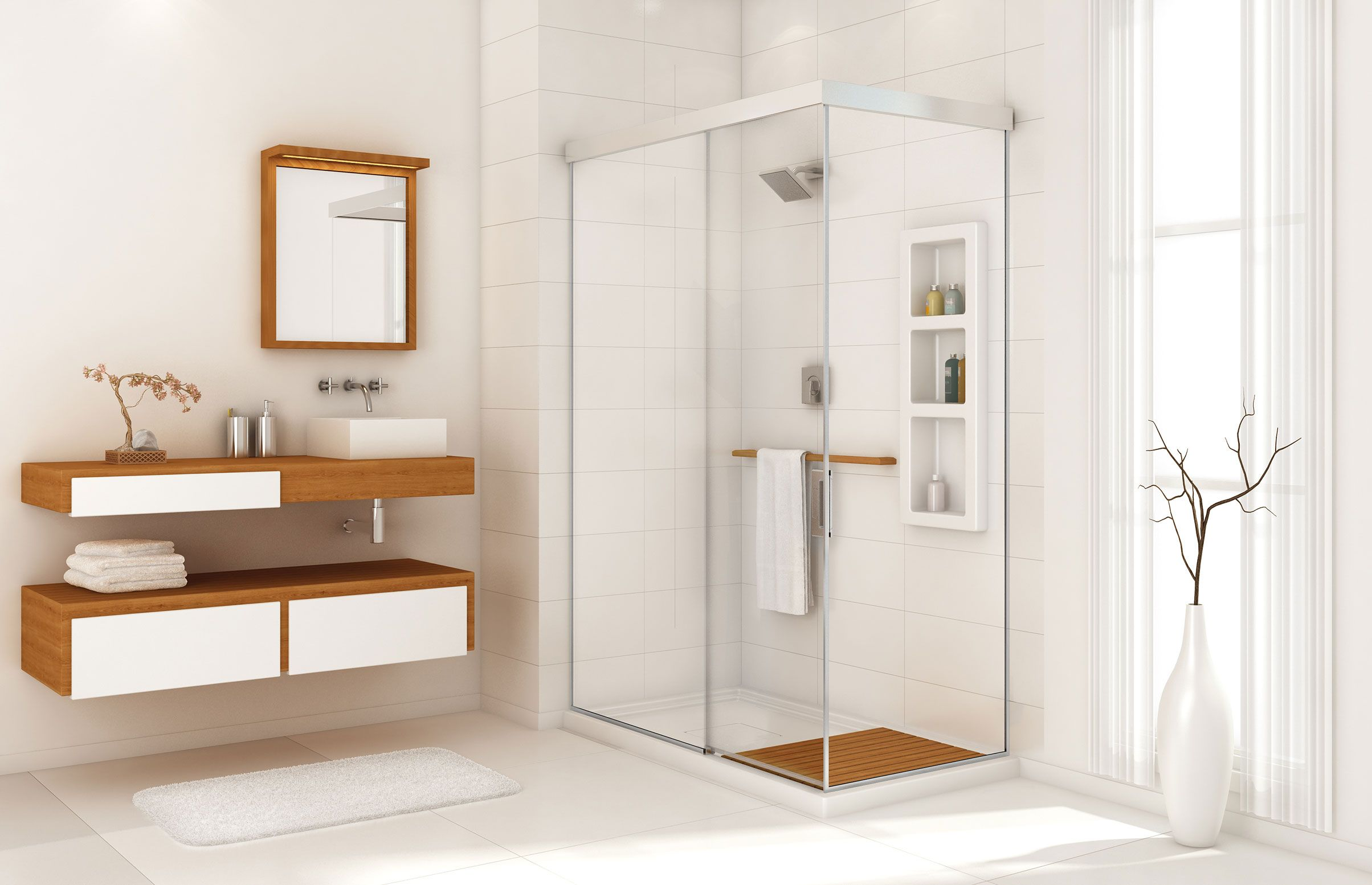 Evidence 6034 C Corner or Glass enclosures shower - MAAX | John ...