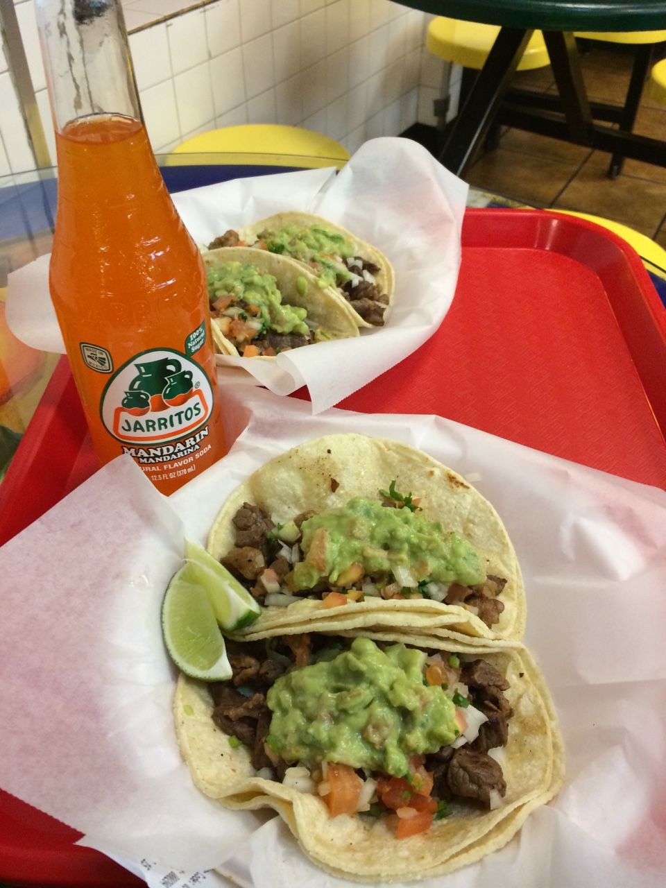 Tacos over everything