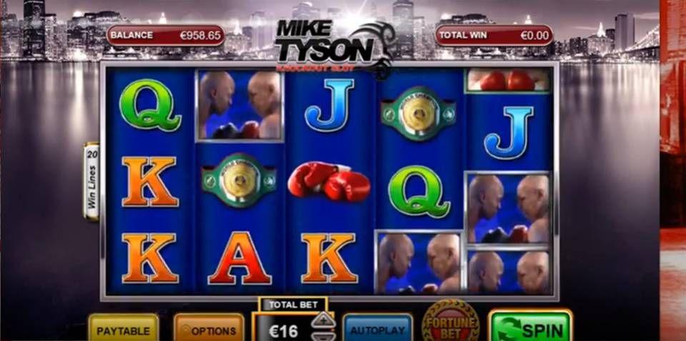 Mike tyson knockout mike tyson play n go tyson