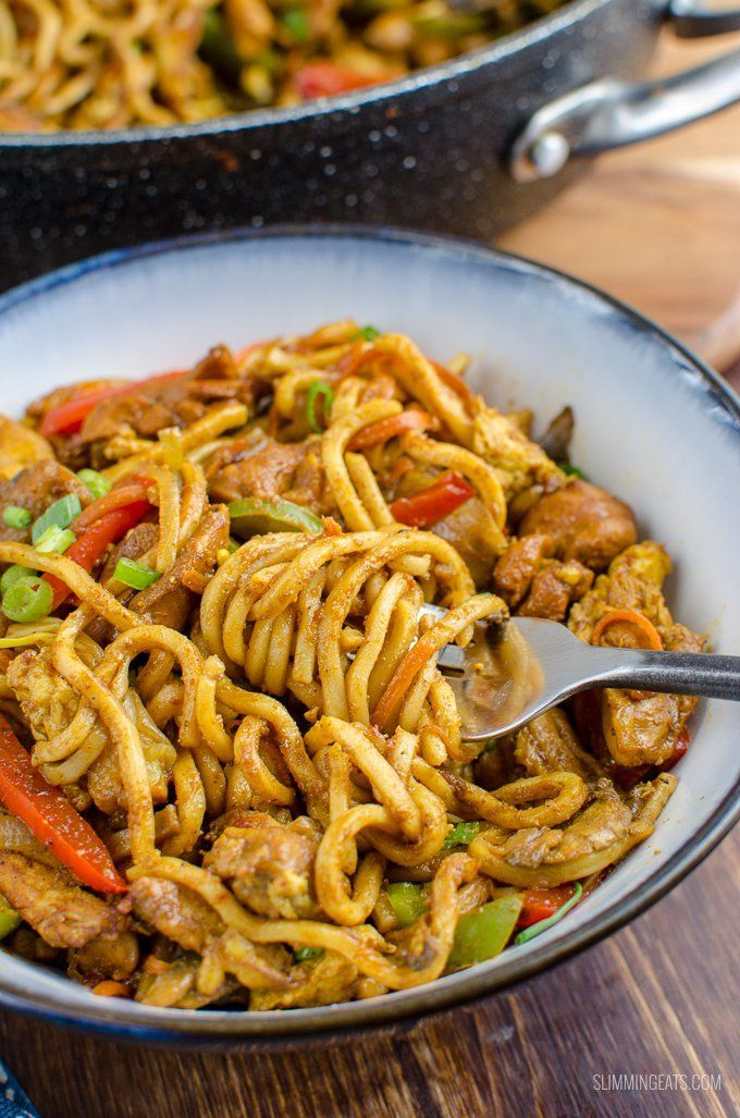 Syn Free Chicken Singapore Noodles | Slimming World