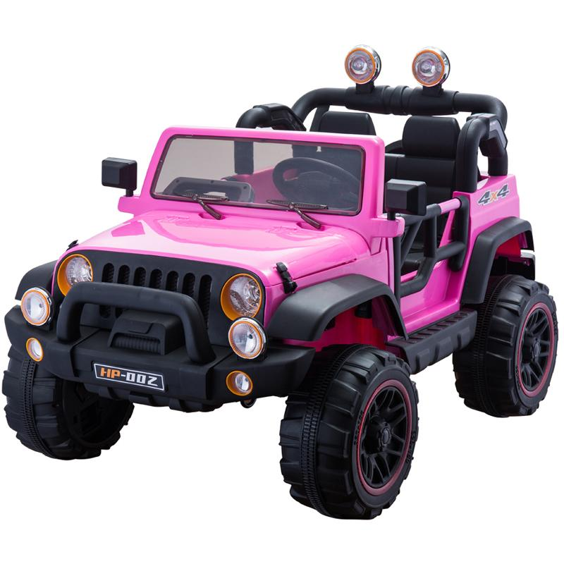 Two Seater Pink Kids Cars
