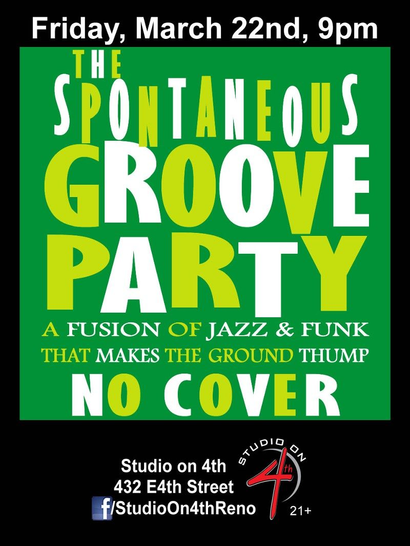 3/22: The Spontaneous Groove Party