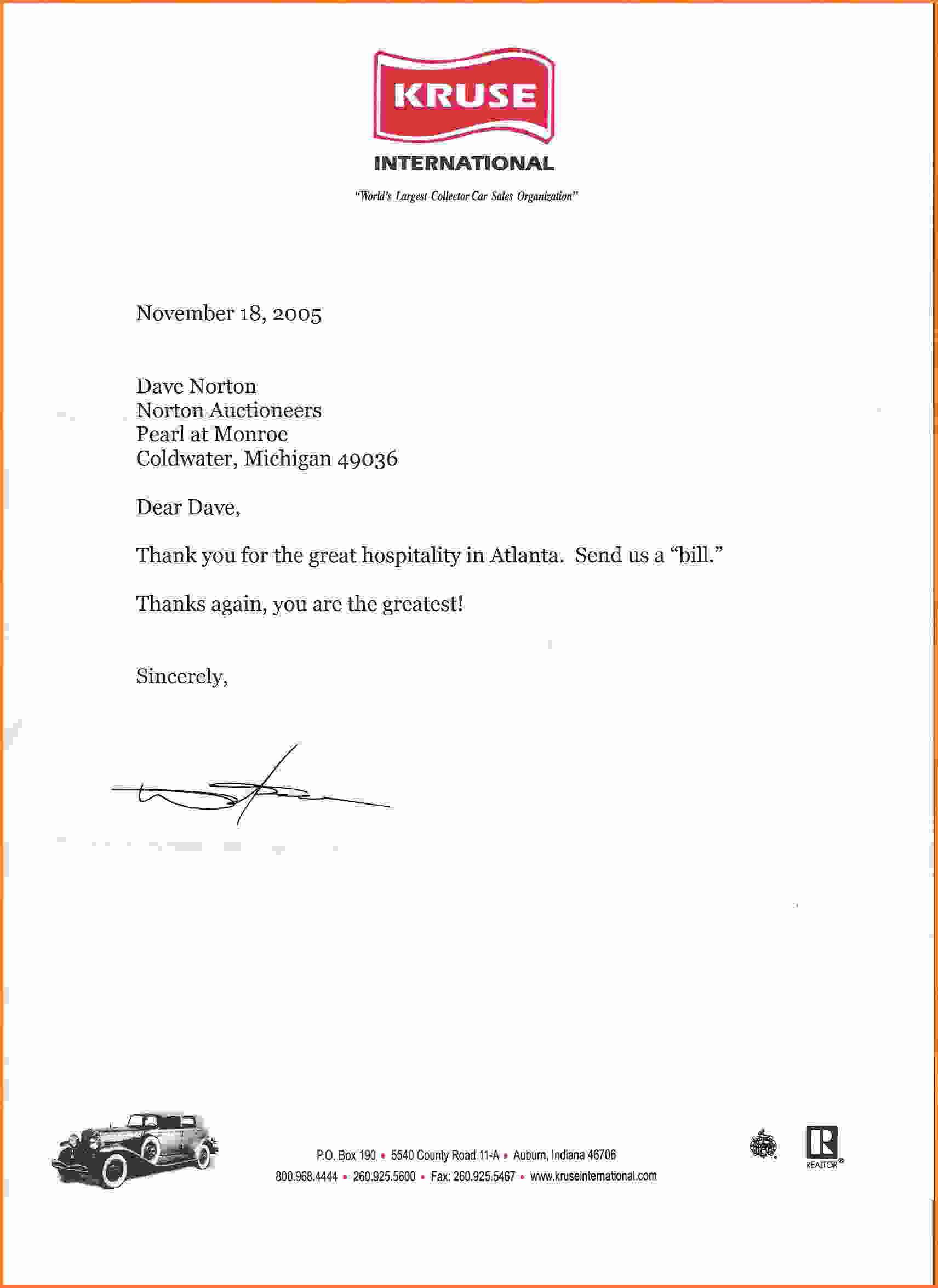 Hospitality Shantanua Thank You Note Notes Letter Appreciation